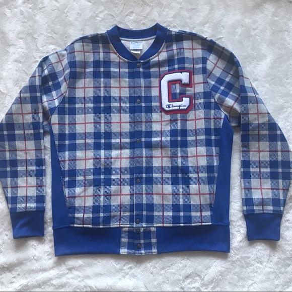 Champion Reverse Weave Baseball Jacket Size XL